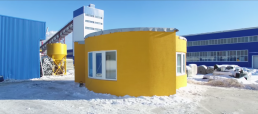 3d printed residential house
